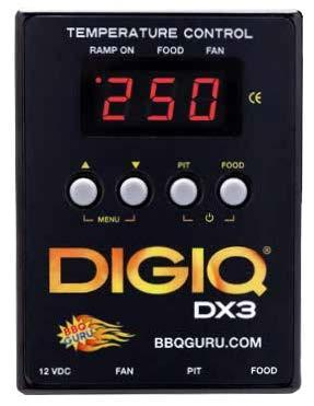BBQ Guru DigiQ DX3 Komplett-Set